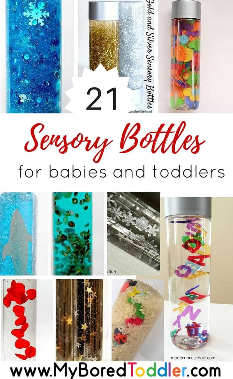 Sensory Bottles For Toddlers Easy To Make My Bored Toddler