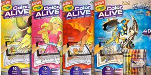 Crayola Color Alive Review