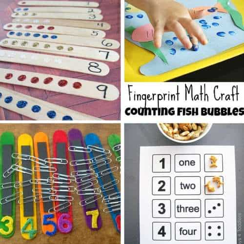 Toddler Counting Activities 5