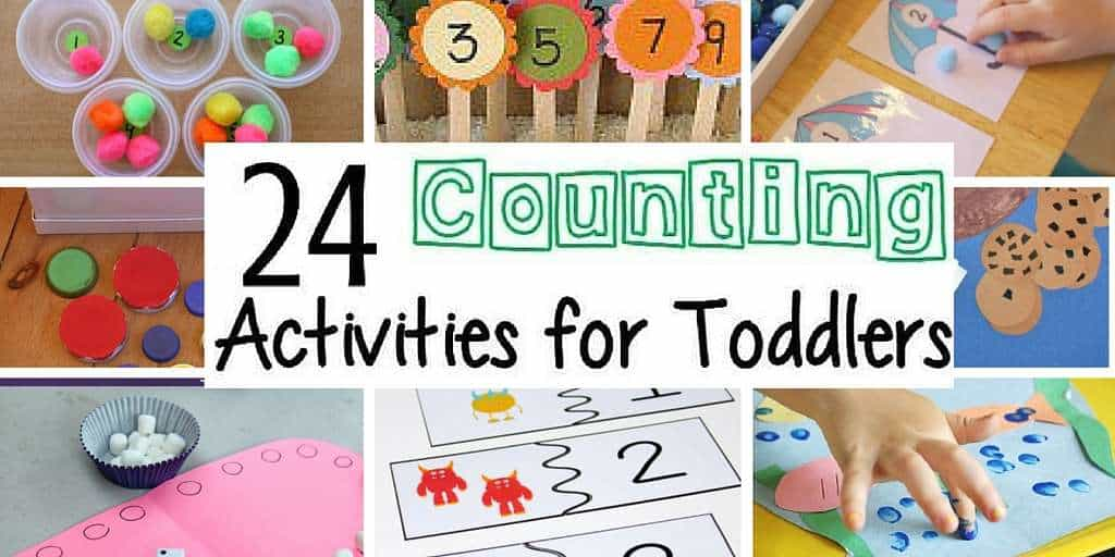 Toddler Counting Activities