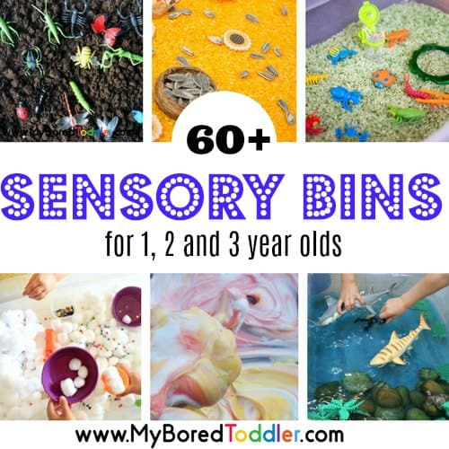 Sensory Bins for Toddlers – 6o Sensory Bin Ideas!