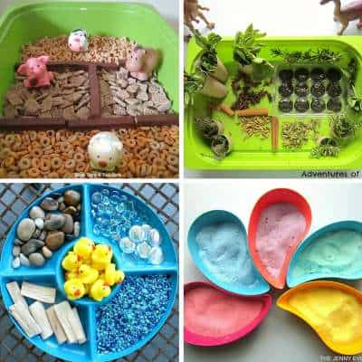 sensory bins for babies and toddlers 5
