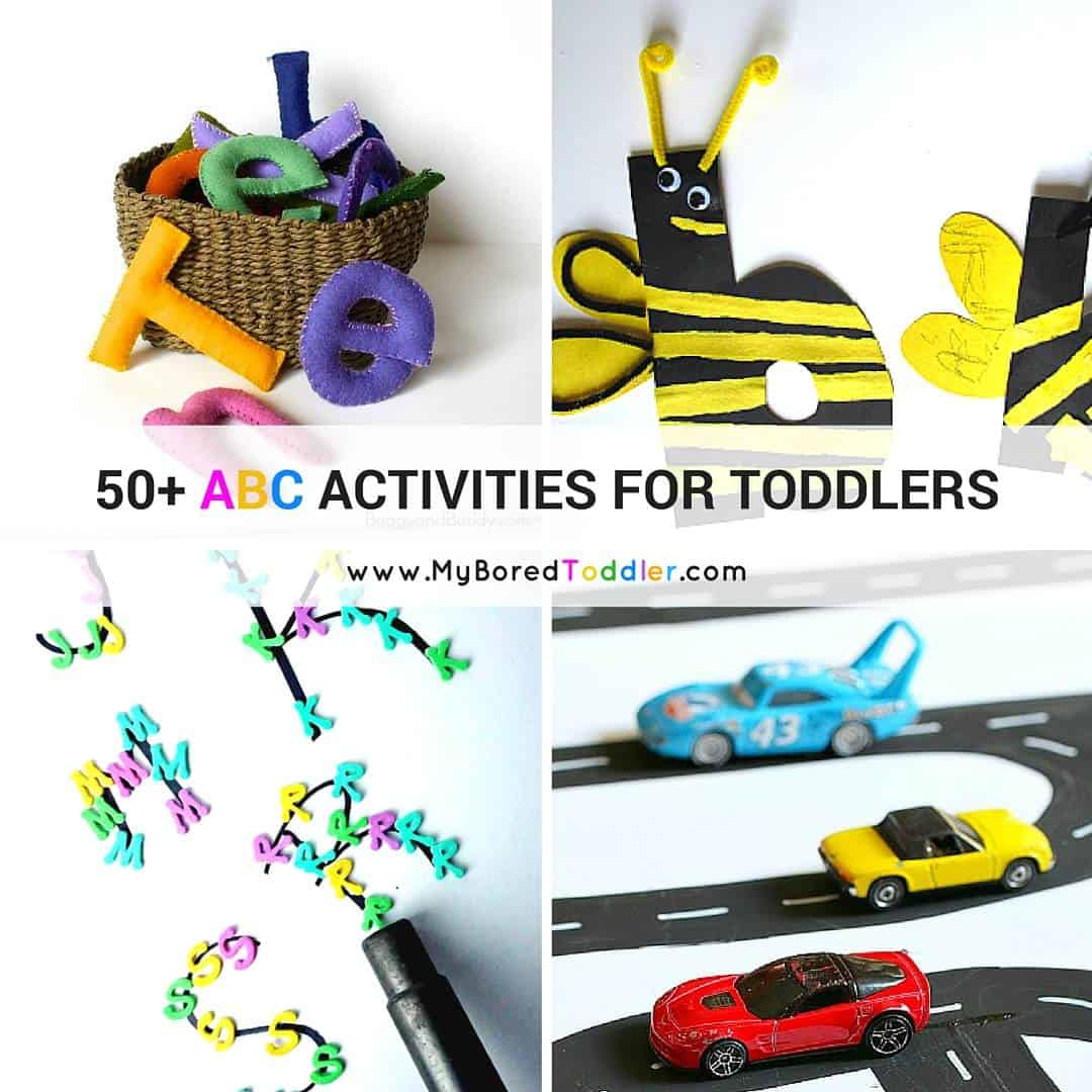 50 ABC Activities For Toddlers - Instagram reduced