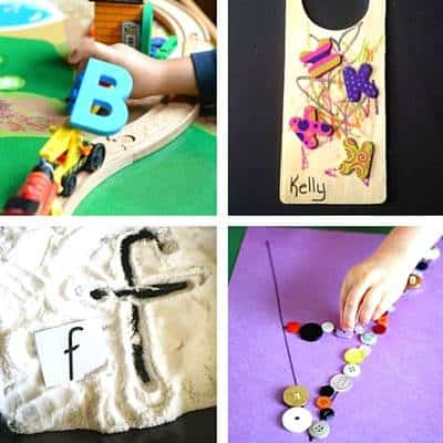 ABC Activities For Toddlers - 1a