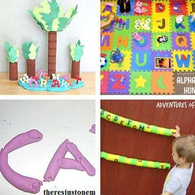 ABC Activities For Toddlers - 4a