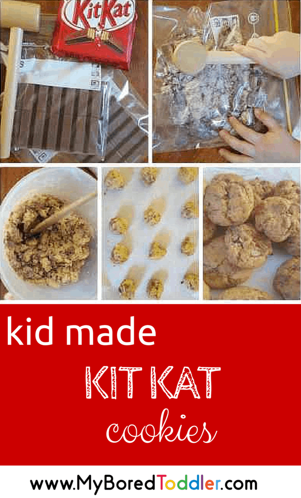 Kit Kat Cookie Recipe pinterest