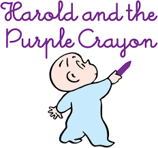 50 great books for toddlers my bored toddler for Harold and the purple crayon coloring pages