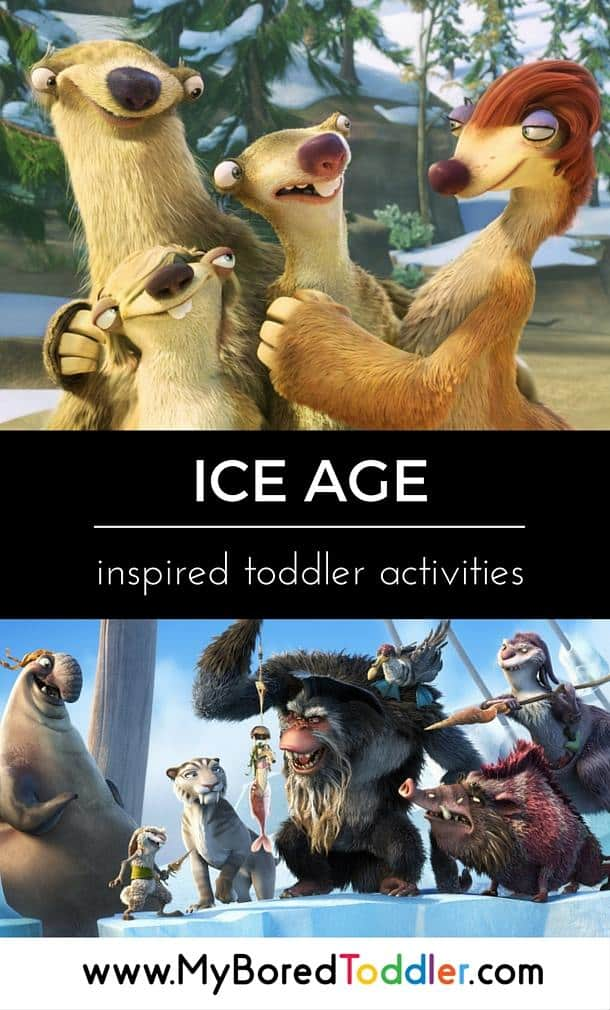ice age inspired toddler activities pinterest