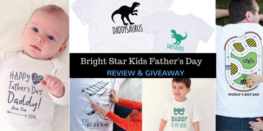 Bright Star Kids Father's Day Review and Giveaway