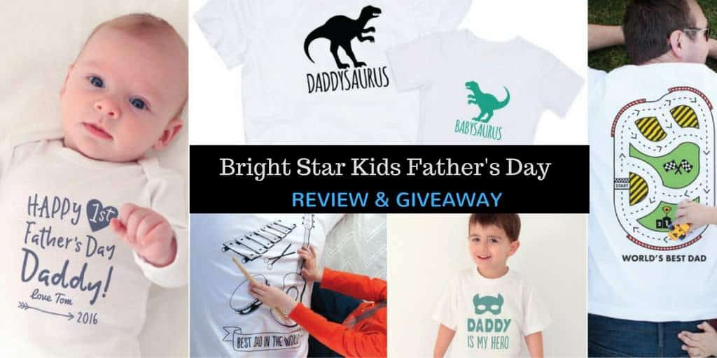 Bight Star Kids Father's Day Review and Giveaway