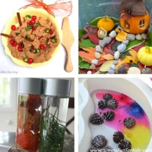 autumn and fall sensory play for toddlers image 10