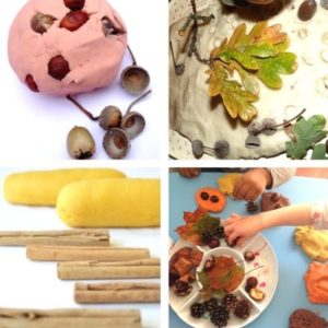 autumn and fall sensory play for toddlers image 5