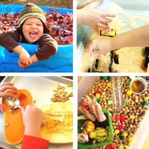 autumn and fall sensory play for toddlers image 8