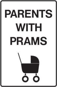 pram parking