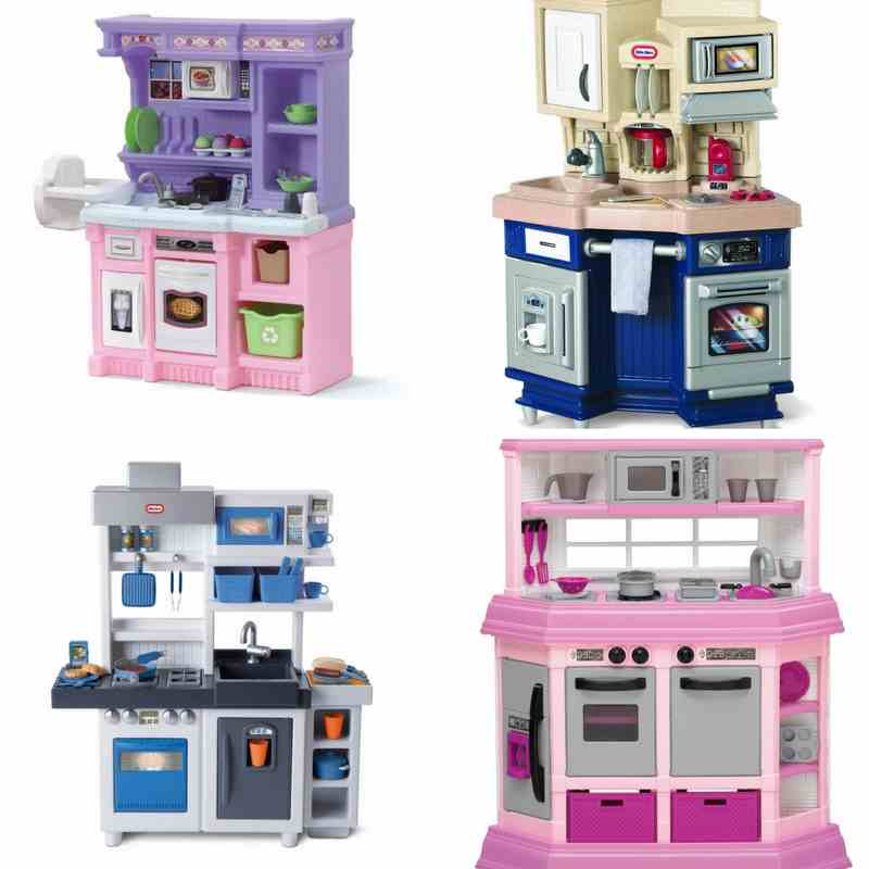 Realistic Play Kitchen Ultimate Corner With Lights And: Best Play Kitchens For Toddlers