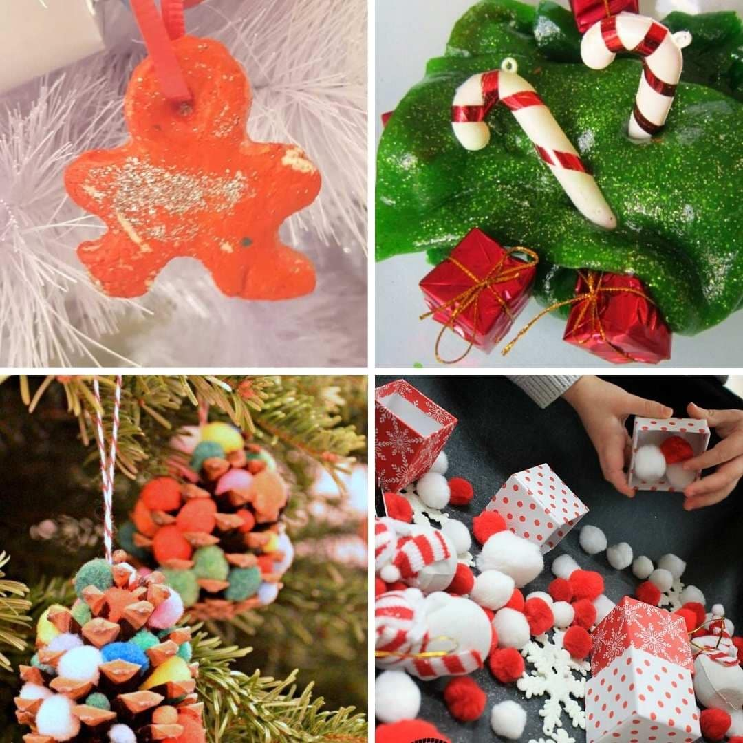 Christmas sensory play ideas for toddlers 2 year old 3 year old 4 year old preschool