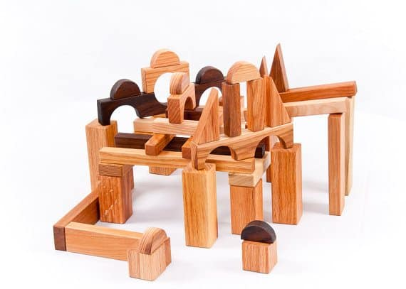 best wooden toys for toddlers blocks