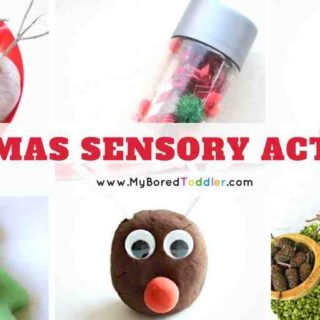 Christmas sensory play activities toddlers
