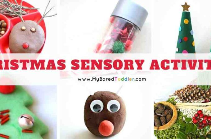 Christmas Sensory Play Ideas for Toddlers + WIN!!