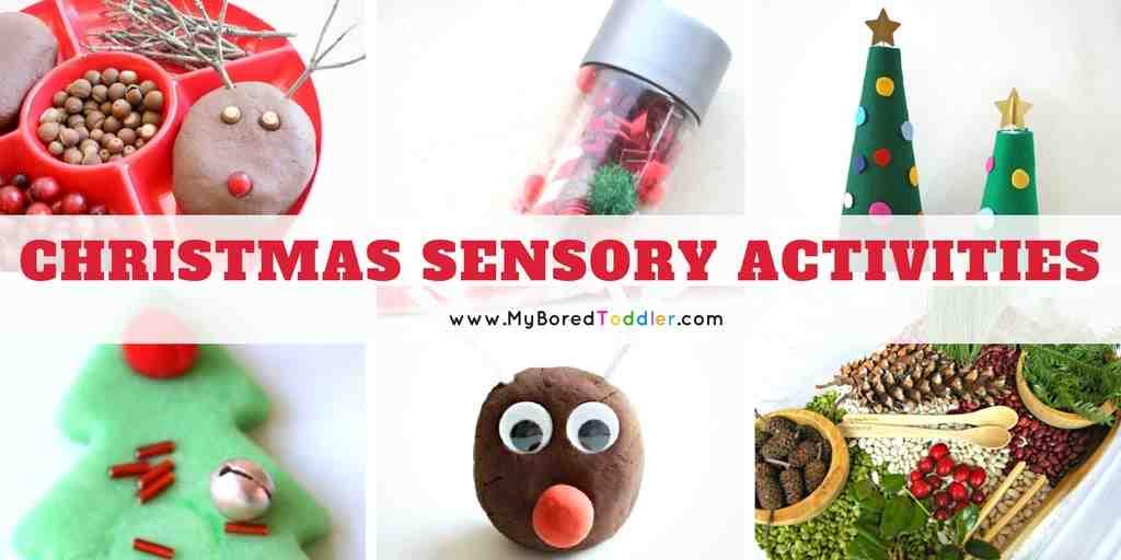 Christmas Sensory Play Ideas For