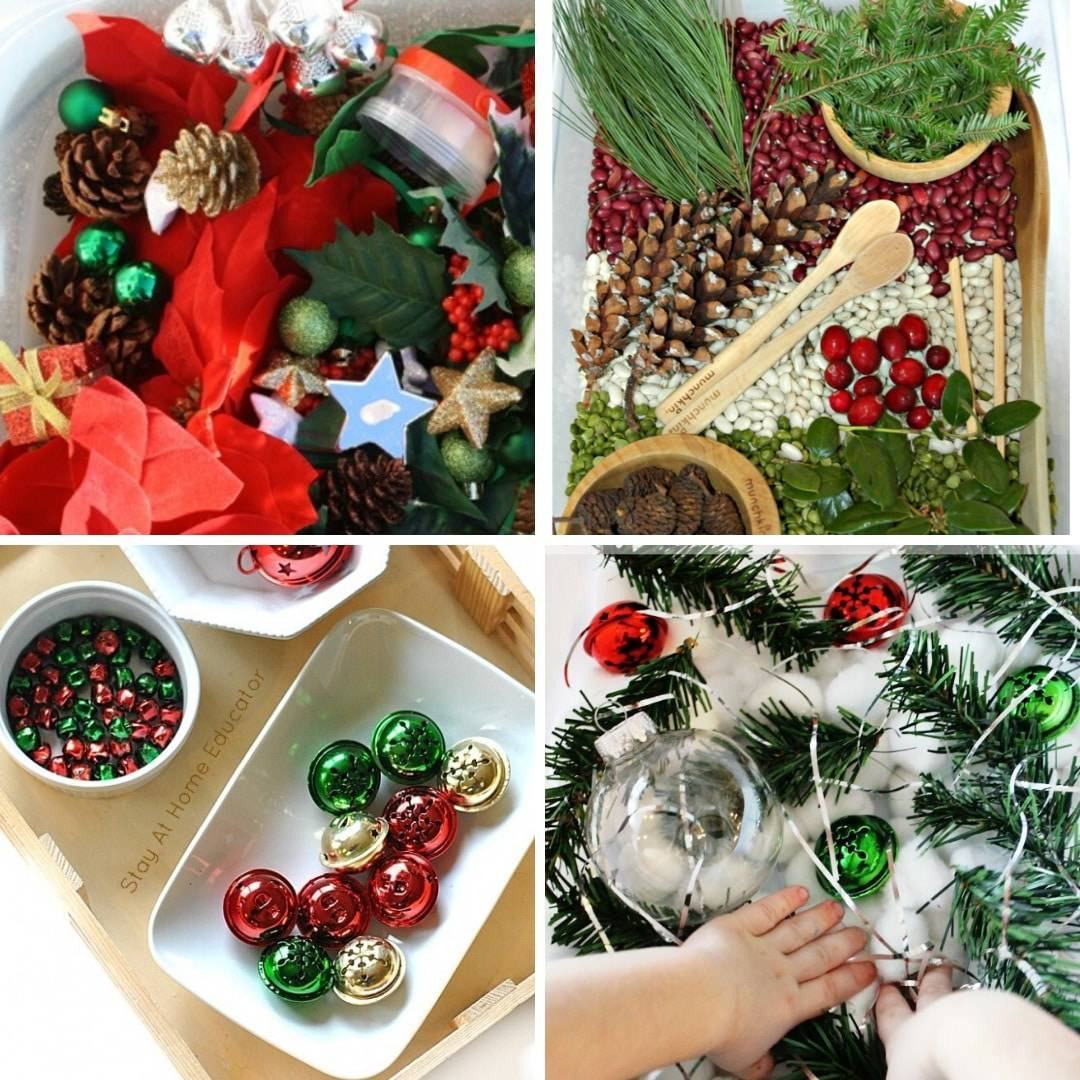 Christmas sensory play ideas for toddlers 1 2 3 year olds image 1