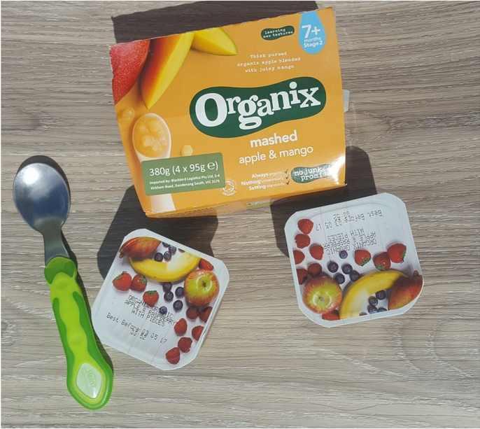when to start solid foods organix food pots