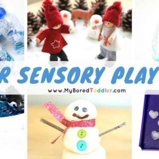 winter sensory play ideas for toddlers