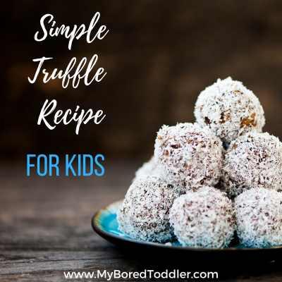 simple truffle recipe kids can make