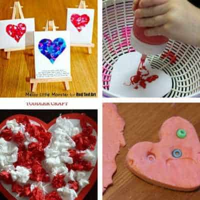 toddler ideas for valentine's day crafts and activities 5