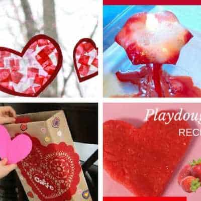 toddler valentine's day heart crafts 7