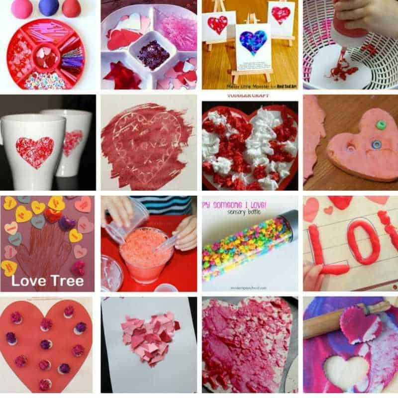 Toddler wax resist heart valentine 39 s day card my bored for Toddler valentine craft ideas