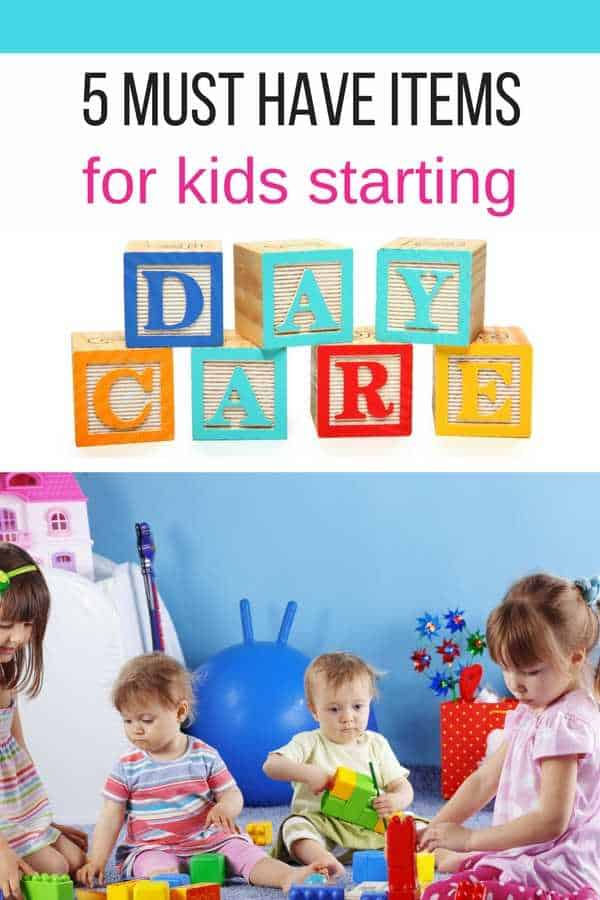 5 must have items for kids starting day care pinterest