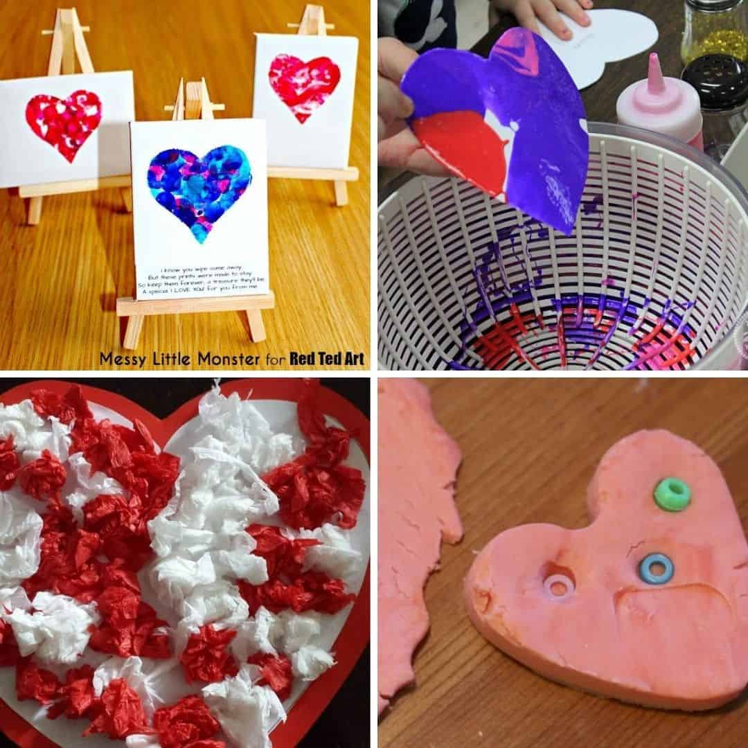 Valentine S Day Craft Ideas For Toddlers Easy Preschool And Toddler Valentine S Day Crafts And Activities My Bored Toddler