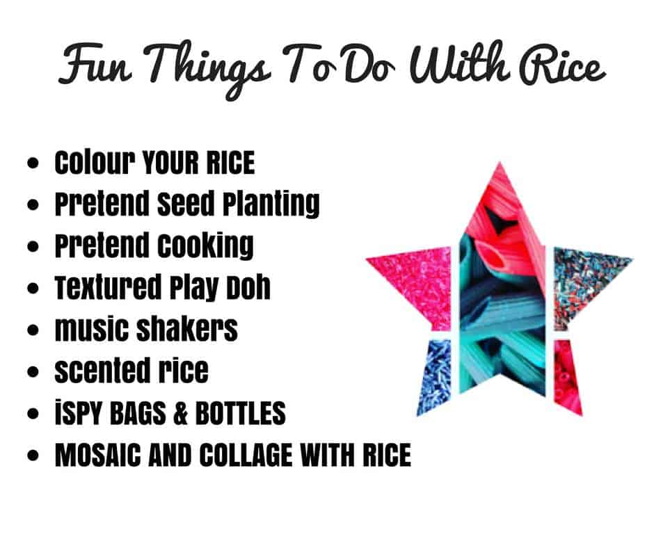 fun things to do with rice