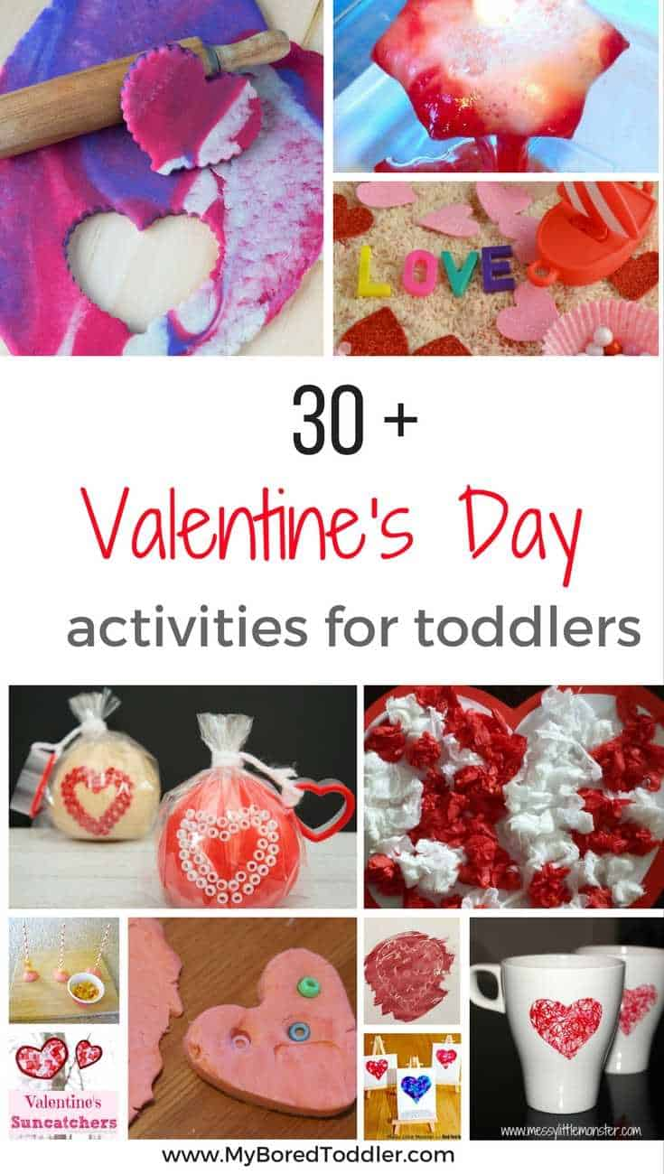 Valentine 39 s day activities for toddlers my bored toddler for Crafts for valentines day ideas