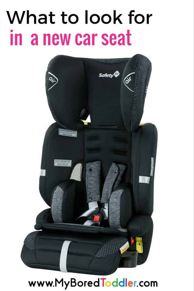 car seat buying tips what to look for safety features