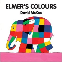 Elmer's Colours board book version