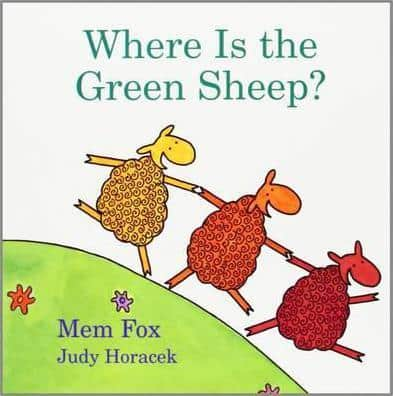 where is the green sheep board book for toddlers colors