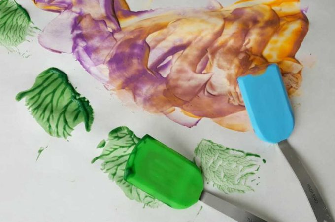 Painting with Spatulas