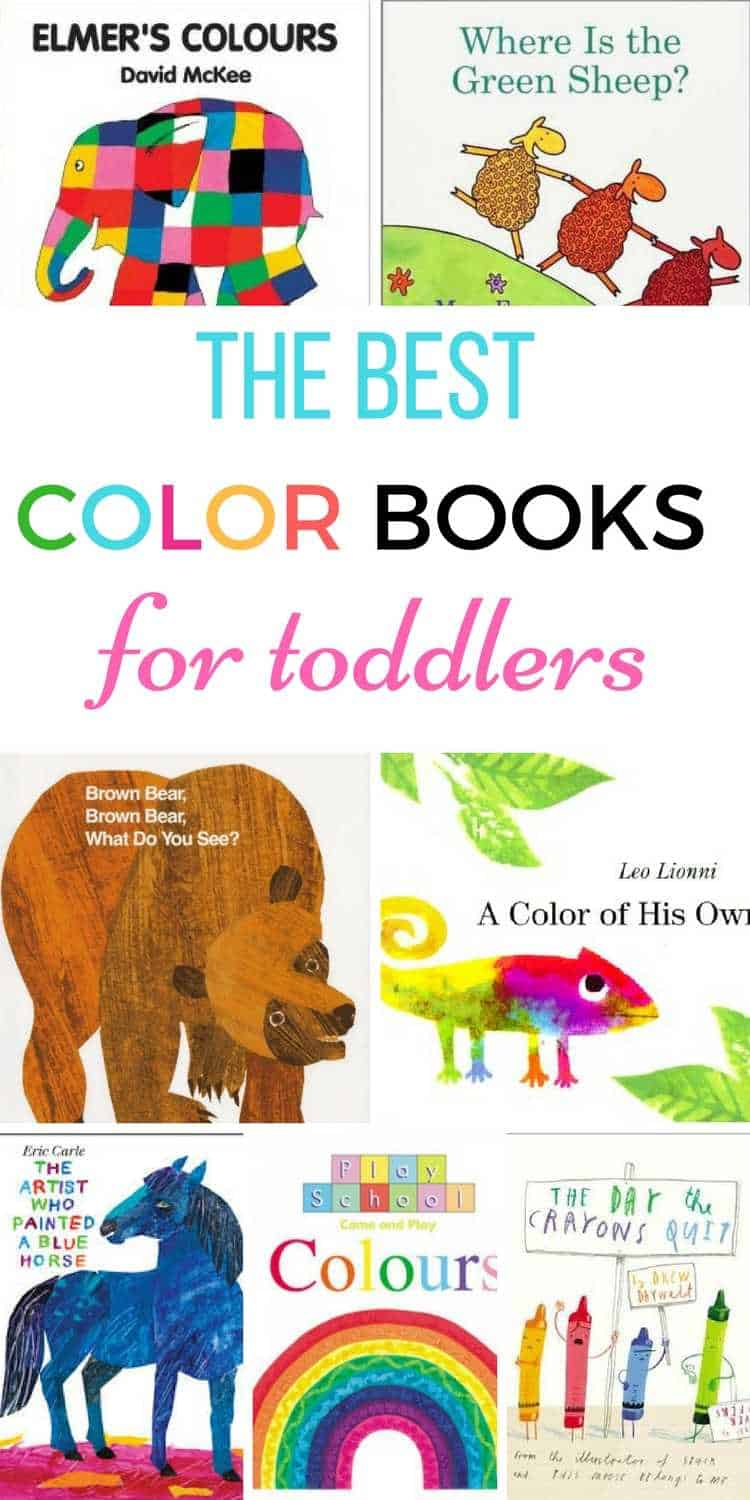 color books for toddlers - Color Books For Toddlers