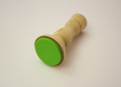 circle stamp for St. Patrick's Day stamping activity