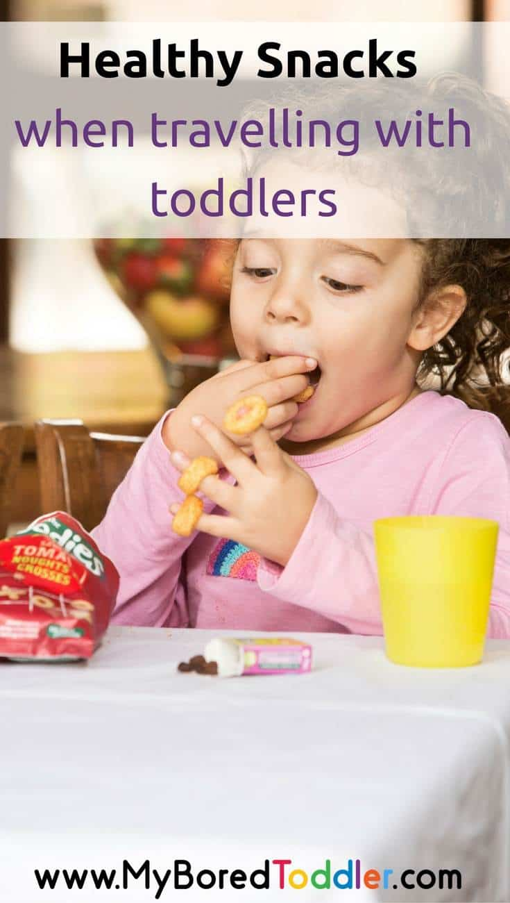 healthy snacks when travelling with a toddler pinterest