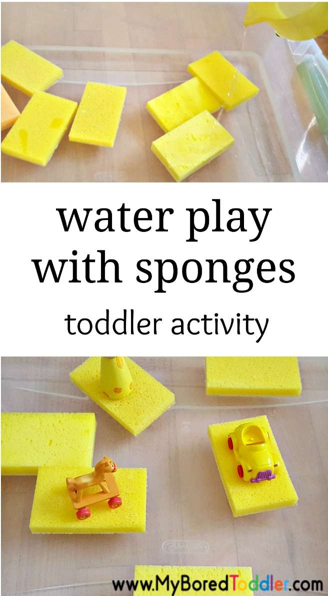 water play with sponges simple toddler water play activity