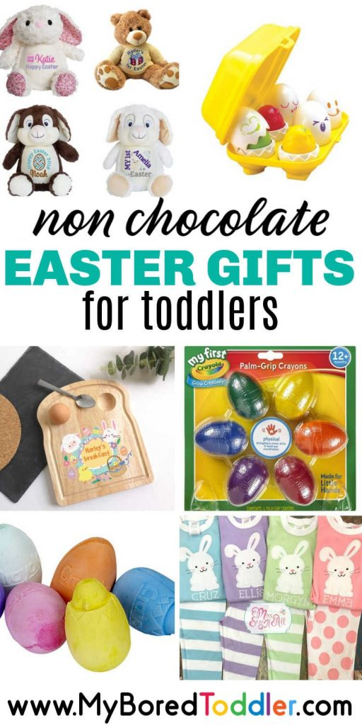Non chocolate Easter Gifts for Toddlers pinterest
