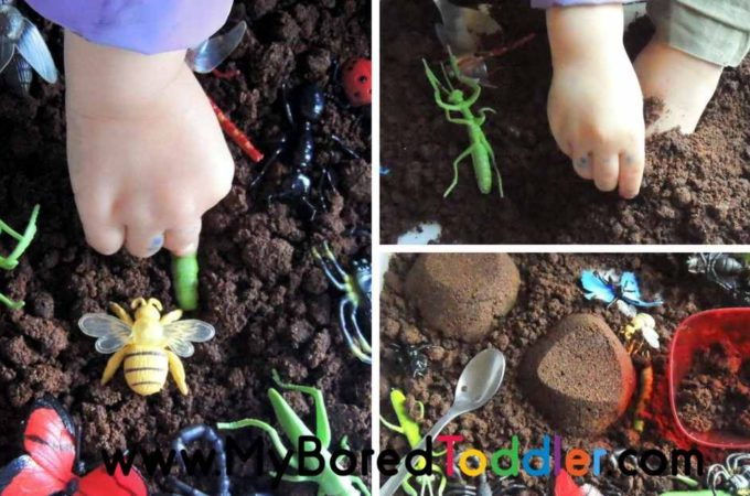 Insects Sensory Bin – Taste Safe