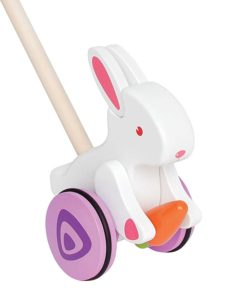Non chocolate easter gifts for toddlers my bored toddler bunny walker toy non chocolate gifts for toddlers easter negle Image collections