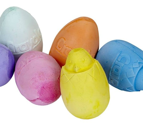 Non chocolate easter gifts for toddlers my bored toddler crayola egg shaped chalk non chocolate easter gifts toddlers negle Choice Image