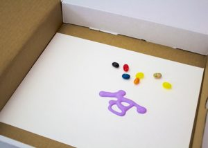 easter egg process painting jelly beans 1
