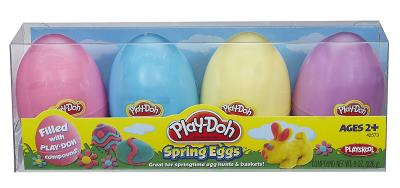 playdough eggs non chocolate Easter gifts for toddlers