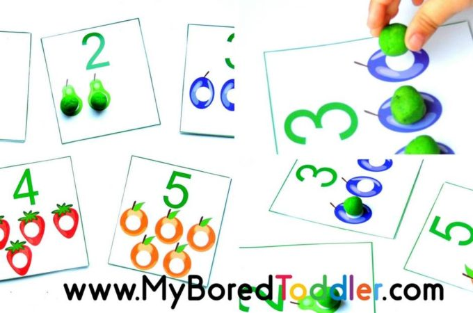 The Very Hungry Caterpillar Counting Mats